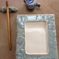 陶硯、筆置き、水滴