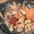 つちつち陶芸教室の久々の野焼き